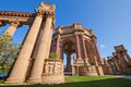 Palace of fine arts in san francisco california Stock Photography