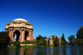 Palace of fine arts in san francisco california against blue sky Stock Images