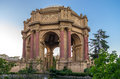 Palace of fine arts san francisco at dusk ca june the in the marina district is a monumental structure originally Royalty Free Stock Images