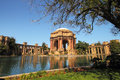 Palace of fine arts in san francisco originally constructed for the panama pacific exposition Royalty Free Stock Photos