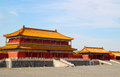 Palace Forbidden city in Beijing, China Stock Photo
