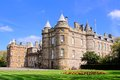 Palace of holyroodhouse official residence the queen in scotland Royalty Free Stock Photo