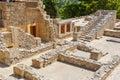 Palace of Knossos. Crete, Greece Royalty Free Stock Photo