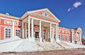 Palace kuskovo was designed neoclassical style Royalty Free Stock Image