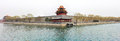 The palace museum watchtower in sping spring beijing china Stock Photo