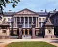 Palace of the nation brussels palais de la seen from parc de bruxelles belgium western europe Stock Photo
