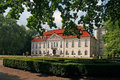 Palace in Nieborow Royalty Free Stock Photo