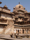 Palace in Orcha, Madhya Pradesh Royalty Free Stock Image