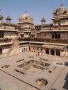 Palace in Orcha, Madhya Pradesh Royalty Free Stock Image