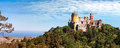 Palace of pena in sintra portugal Royalty Free Stock Image