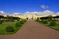 Palace in Peterhof, Saint-Petersburg Royalty Free Stock Image