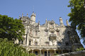 Palace quinta da regaleira is an estate located near the historic center of sintra portugal Stock Photos