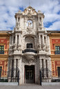 Palace of San Telmo Baroque Portal Royalty Free Stock Photo
