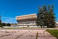 Palace of sports and concerts in vilnius abandoned lithuania Royalty Free Stock Photography