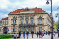 Palace of tyszkiewicz in warsaw may designed at the end the xviii century by stanislaw zawadzki and john christian kamsetzer the Stock Images