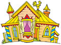 Palace (vector clip-art) Royalty Free Stock Photography