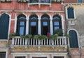 Palace in venezia italy Stock Photo