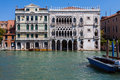 Palace in venice on the grand canal ca d oro palazzo santa sofia is a Stock Photo