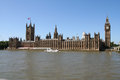 Palace of westminster the british houses parliament real name the Stock Photo
