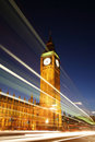 Palace of Westminster at Night Stock Photos