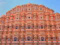 Palace of the Winds in Jaipur. India Royalty Free Stock Photos
