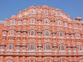 The Palace of the Winds at Jaipur, India Royalty Free Stock Photo