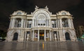 Palacio de Bellas Artes - Palace of Fine Arts, night Royalty Free Stock Photo