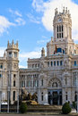 Palacio de Cibeles, Madrid Stock Photography