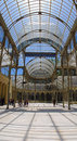 Palacio de Cristal, Madrid Royalty Free Stock Photography