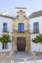 Palacio de viana in cordoba spain main gate of the Stock Photos