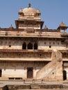 Palacio en Orcha, Madhya Pradesh Imagen de archivo