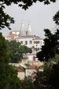 Palacio Nacional de Sintra Stock Images