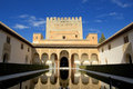 Palacio Nazaries of Alhambra, Granada, Spain Royalty Free Stock Photos
