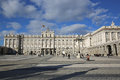Palacio Real de Madrid Royalty Free Stock Photo