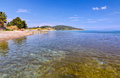 Palaia Epidaurus beach, Argolis, Greece Stock Photo