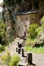 Palaiomonastiro -Agios Nikolaos  1550 Historical monastery in Royalty Free Stock Photo