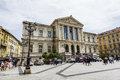 Palais de Justice in Nice in France Royalty Free Stock Photo