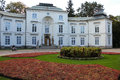 Palais de Myslewicki. Varsovie. La Pologne. Photo stock