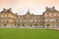 Palais du luxembourg paris france Royalty Free Stock Images