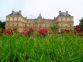 Palais du luxembourg paris france Royalty Free Stock Image