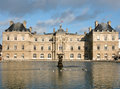 Palais du luxembourg in paris france Royalty Free Stock Images