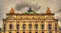 Palais Garnier, a famous opera house in Paris Royalty Free Stock Photo
