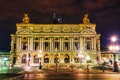 The Palais Garnier (National Opera House) in Paris, France Royalty Free Stock Photo