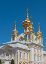 Palais grand, Petergof, Russie Images libres de droits