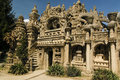 Palais ideal du facteur cheval an eccentric french postman built this palace out of cement and stones in his spare time Stock Photo