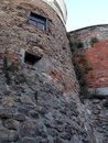 Palanok Castle inside Royalty Free Stock Photo