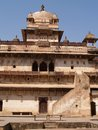 Palast in Orcha, Madhya Pradesh Stockbild