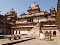 Palast in Orcha, Madhya Pradesh Stockfotografie