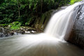 PaLaU Waterfall in the national park Stock Photography