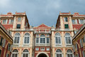 Palazzo architecture in Genoa Royalty Free Stock Photography